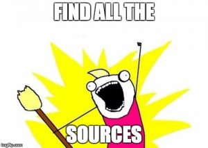 findallthesources