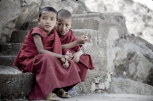 Two Boys from Ladakh