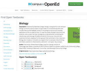 Open Textbook Project