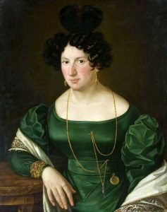 Anonymous Woman in Green