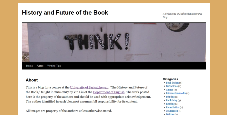 History and Future of the Book Blog